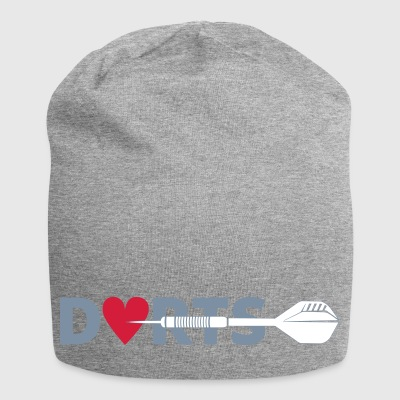 DARTS right in the heart - Jersey Beanie