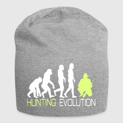 Evolution - Hunting T-shirt voor jagers Gift - Jersey-Beanie