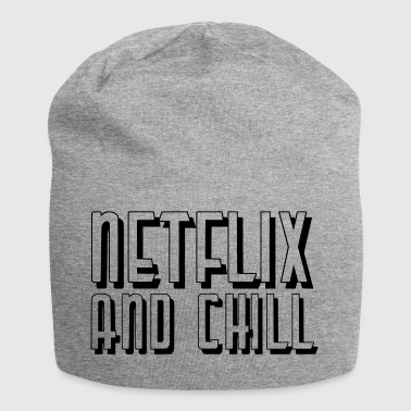Netflix and Chill - Beanie in jersey