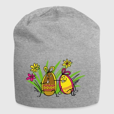 Easter eggs - Jersey Beanie