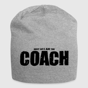 Basketball Coach Shut Up - Jersey Beanie