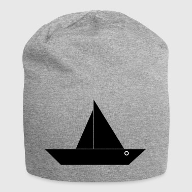 paddle boat sail boat rowing boat sailboat3 - Jersey Beanie