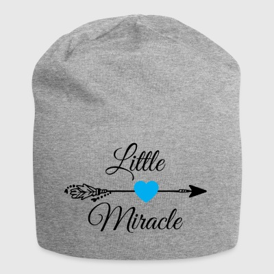 Little miracle Blue Heart.Baby Gifts. New Baby. - Jersey Beanie