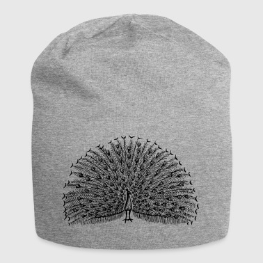 peacock - Jersey Beanie