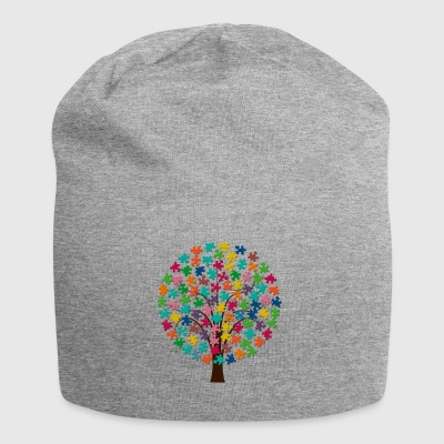 Puzzle treet - Jersey-beanie
