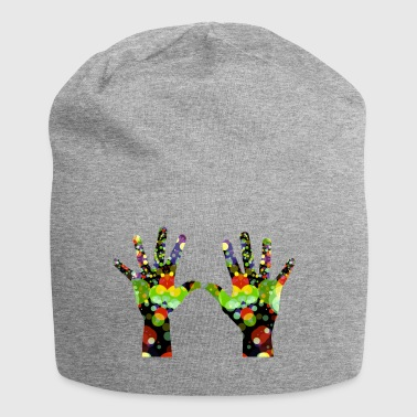 colorful hands - Jersey Beanie