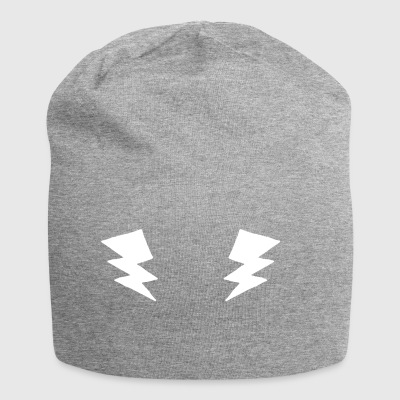 Electric chest - Fitness Sports Lightning Thunderstorm - Jersey Beanie