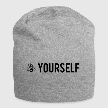 Bee Yourself - Be Yourself - Jersey Beanie