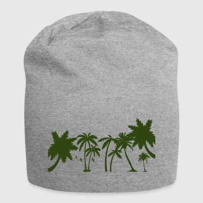 Palm trees - Jersey Beanie
