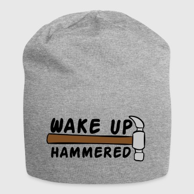 Tagdækkere: Wake Up Hammered - Jersey-Beanie