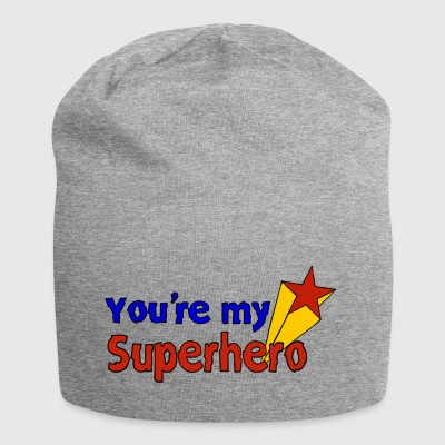 You're my superhero - Jersey Beanie