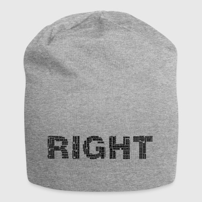 Right lettering - Jersey Beanie