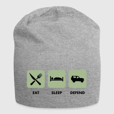Eat, Sleep & Forsvar - Jersey-beanie