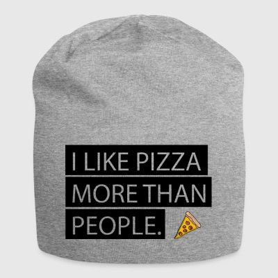 Pizza is Love. Pizza is Life. - Jersey Beanie