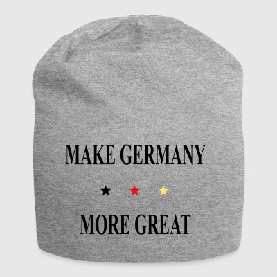 Make Germany more great - Jersey Beanie