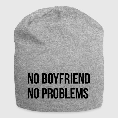 No Boyfriend No Problems - Jersey-Beanie