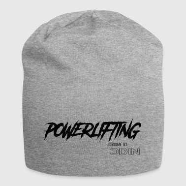BLESSED BY ODIN powerlifting - Jersey Beanie