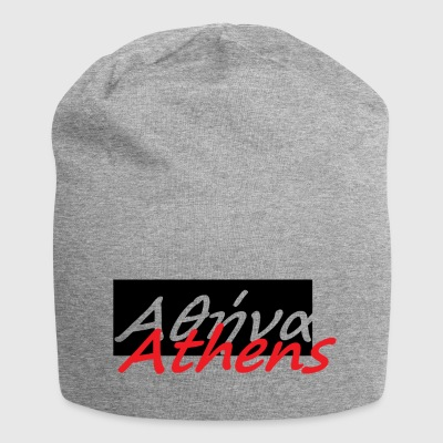 Athens in greek 1 - Jersey Beanie