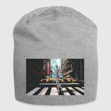 Cyborg a New York - Beanie in jersey