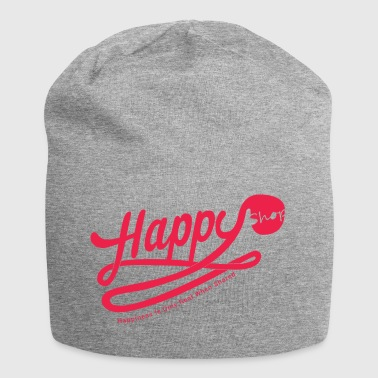 happy happiness - Jersey Beanie