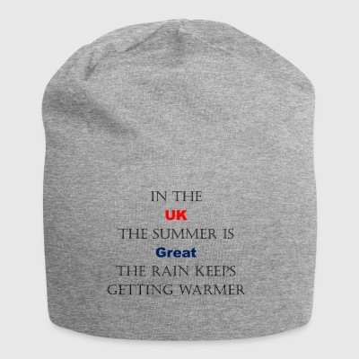 Regno Unito Weather Joke - Beanie in jersey