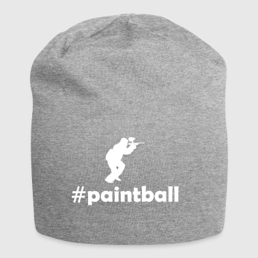 hashtag paintball - Beanie in jersey