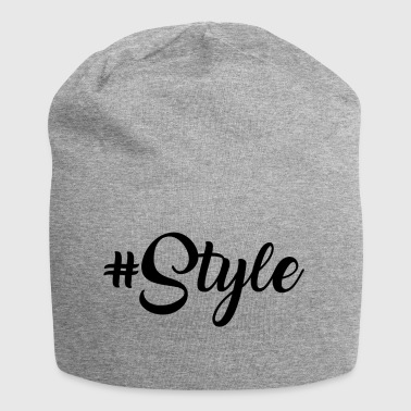#Style - Beanie in jersey