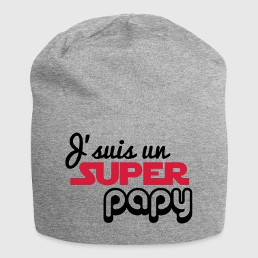I'm a super grandpa - grandfather - Jersey Beanie