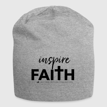 Inspire faith black - Jersey Beanie