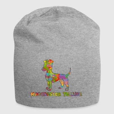 Manchester Terrier Multicolored - Jersey Beanie