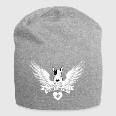 Bull Terrier Bullterrier Shirt with wings - Jersey Beanie