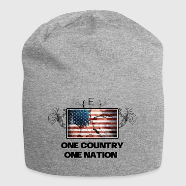 One Country - One Nation - Jersey Beanie