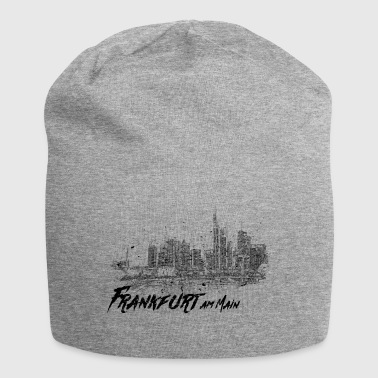 Frankfurt am Main - City sketch skyline - Jersey Beanie