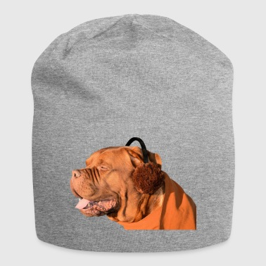chien bouledogue chien bordeaux bouledogue - Bonnet en jersey