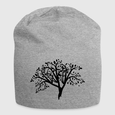 træ Illustration - Jersey-Beanie