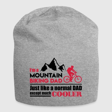 Mountain biking dad - fathers day - Jersey Beanie