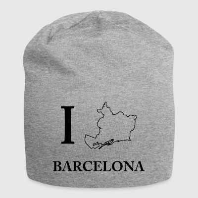 I Love Barcelona Spain España Barca Home Shirt - Jersey Beanie