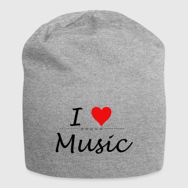 I Love Music - Bonnet en jersey