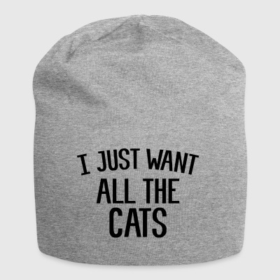 Gifts for Cat Lovers. I just want all the cats! - Jersey Beanie
