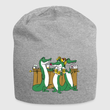 Crocodiles at the bar - Jersey Beanie