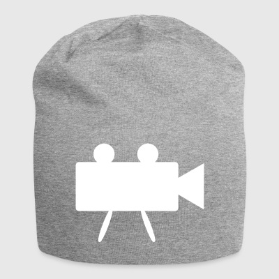Camera for movies white - Jersey Beanie