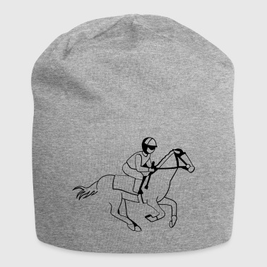 Jockey - Course de chevaux - Bonnet en jersey