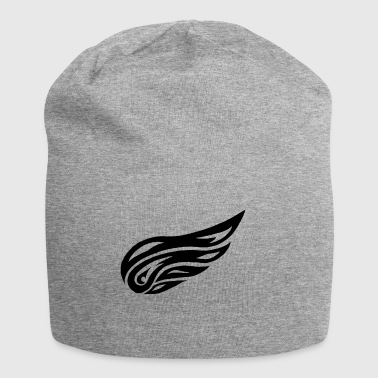 tribal wing - Jersey Beanie