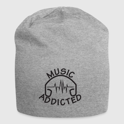 MUSIC_ADDICTED-2 - Bonnet en jersey