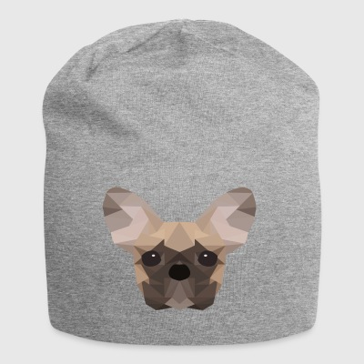 Fransk Bulldog Low Poly - Jersey-beanie