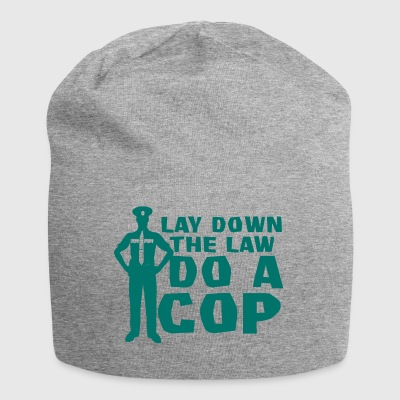 Politie: Lay Down The Law Do A Cop - Jersey-Beanie