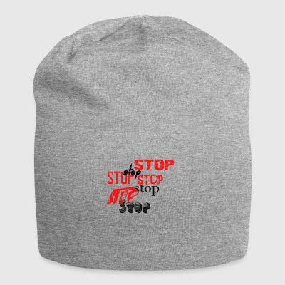 Stop - Jersey Beanie