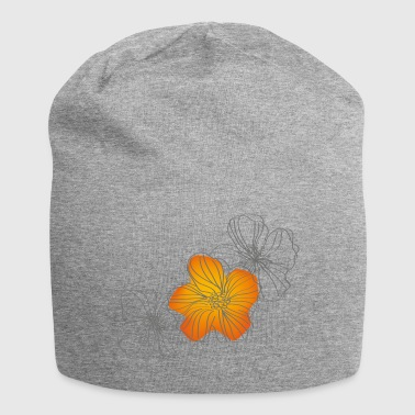 blomster - Jersey-beanie