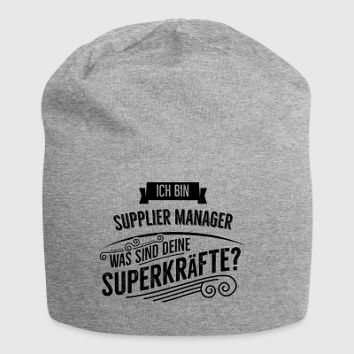 Supplier Manager - Jersey-Beanie