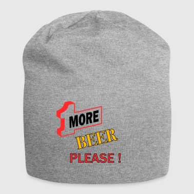 1More BEER please - Jersey Beanie